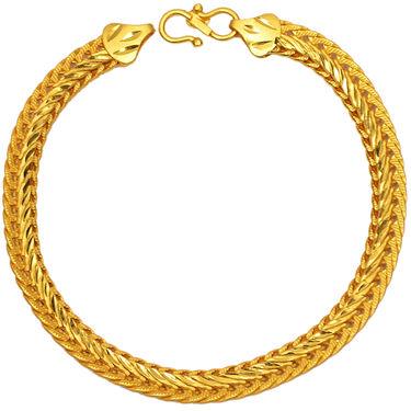 Gold Plated Men Bracelet _Pbr1589