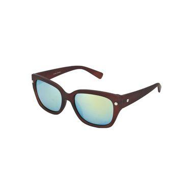 Swiss Design Full Rim Plastic Sunglasses For Unisex_S89215br - Mercury Yellow
