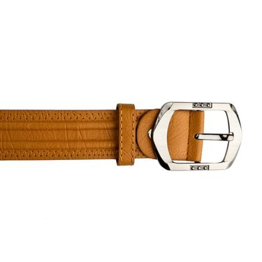 Mango People Leatherite Casual Belt For Men_Mp101tn - Tan