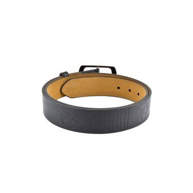 Mango People Leatherite Casual Belt For Men_Mp105bk - Black