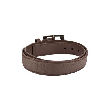 Mango People Leatherite Casual Belt For Men_Mp111br - Brown