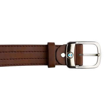 Mango People Leatherite Casual Belt For Men_Mp122br - Brown