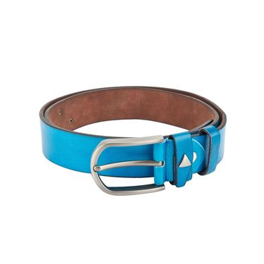 Swiss Design Leatherite Casual Belt For Men_Sd03bl - Blue