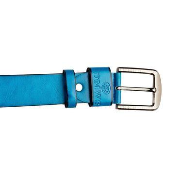 Swiss Design Leatherite Casual Belt For Men_Sd05bl - Blue