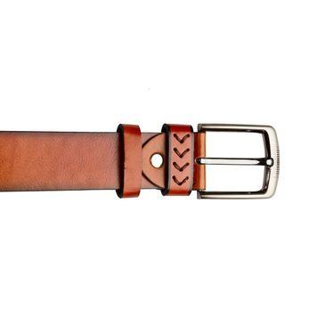 Swiss Design Leatherite Casual Belt For Men_Sd07tn - Tan