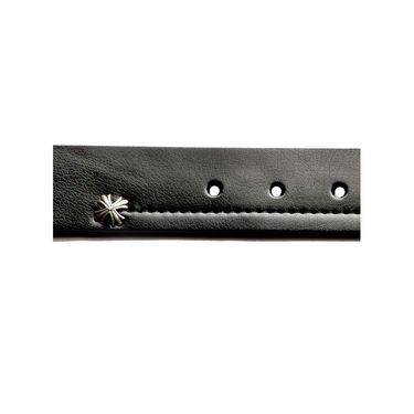 Swiss Design Leatherite Casual Belt For Men_Sd105blk - Black
