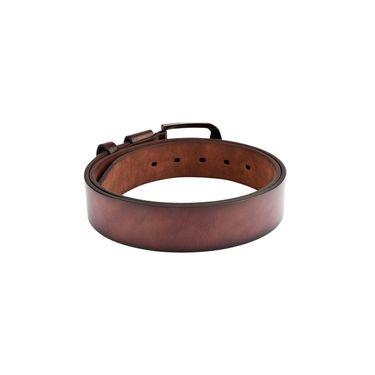 Swiss Design Leatherite Casual Belt For Men_Sd109br - Brown