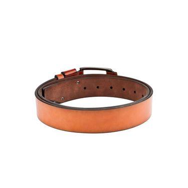 Swiss Design Leatherite Casual Belt For Men_Sd110tn - Tan