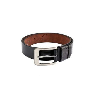 Swiss Design Leatherite Casual Belt For Men_Sd114blk - Black