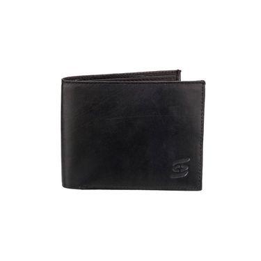 Swiss Design Stylish Wallet For Men_Sdw98213bk - Black