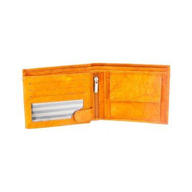 Swiss Design Stylish Wallet For Men_Sdw526tn - Yellow