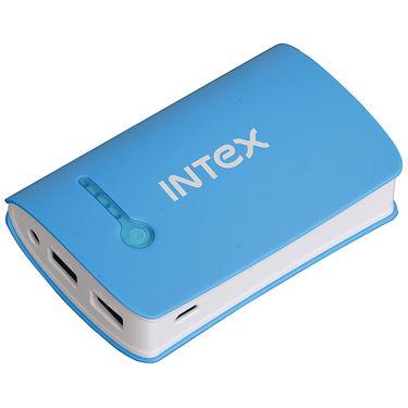 Intex 6000 mAh Power Bank - Blue