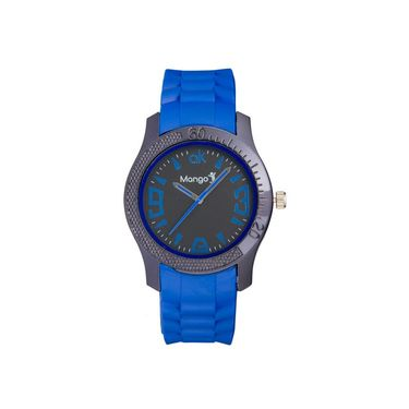 Mango People Round Dial Watch For Men_MP023 - Black