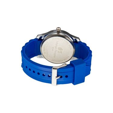 Mango People Round Dial Watch For Men_MP027 - Blue