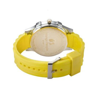 Mango People Round Dial Watch For Women_MP037 - White