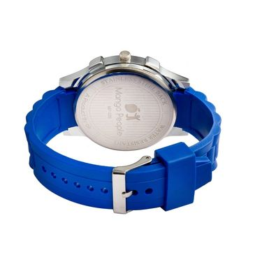 Mango People Round Dial Watch For Women_MP039 - Blue