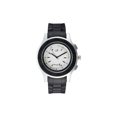 Mango People Round Dial Watch For Women_MP041 - White