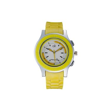 Mango People Round Dial Watch For Women_MP043 - White