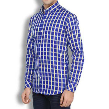 Brohood Slim Fit Full Sleeve Cotton Shirt For Men_A50131 - Multicolor