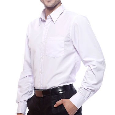 Mind The Gap Full Sleeves Shirt For Men_S7168 - White