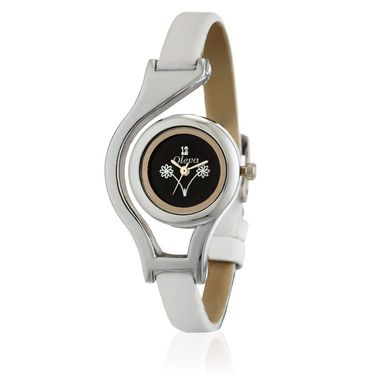 Oleva Analog Wrist Watch For Women_Olw10b - White