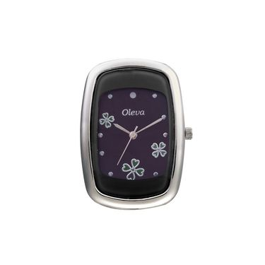 Oleva Analog Wrist Watch For Women_Olw17b - Black