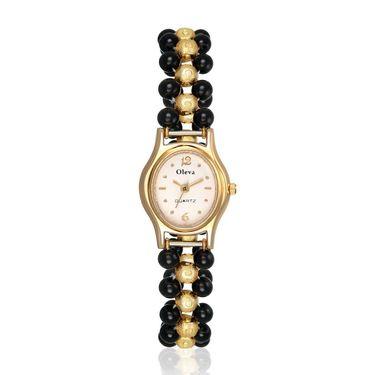 Oleva Analog Wrist Watch For Women_Opw37 - White