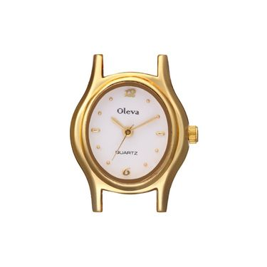 Oleva Analog Wrist Watch For Women_Opw73 - White