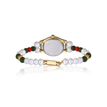 Oleva Analog Wrist Watch For Women_Opw77 - White