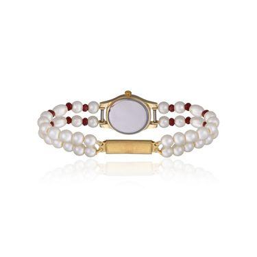 Oleva Analog Wrist Watch For Women_Opw80 - White