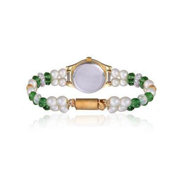 Oleva Analog Wrist Watch For Women_Opw83 - White