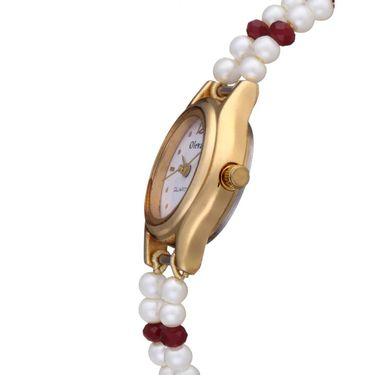 Oleva Analog Wrist Watch For Women_Opw95 - White