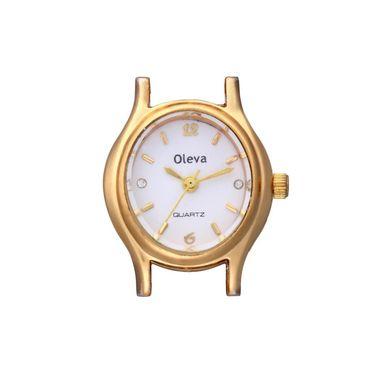 Oleva Analog Wrist Watch For Women_Opw104 - White
