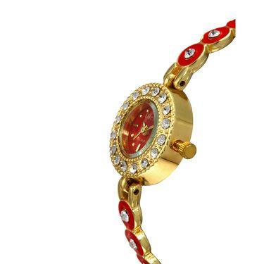 Oleva Analog Wrist Watch For Women_Osw22gr - Red