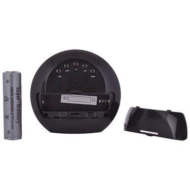 ZINGALALAA HD Quality Table Clock Hidden Audio & Video Recording