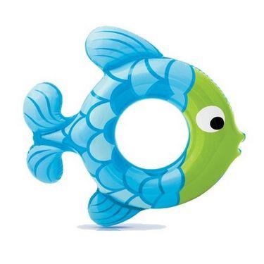 Intex Inflatable Swimming Ring Fish Shape 59222 - Fun For Kids