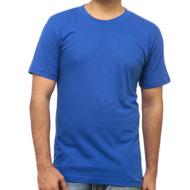 Delhi Seven Round Neck Cotton Tshirt For Men