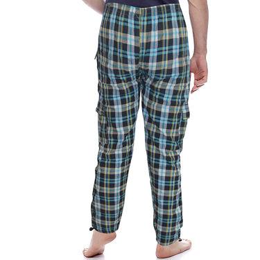 Delhi Seven Regular Fit Trackpant For Men_D7TP1A - Blue & Green