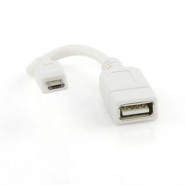 Flashmob Basic OTG Cable - White