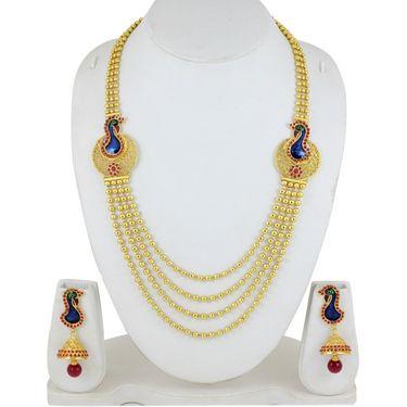 Spargz Brass Metal Necklace Set_Ains072
