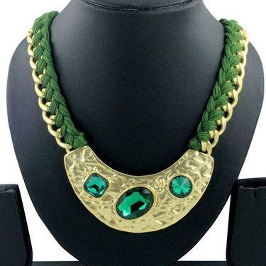 Spargz Alloy Metal Necklace_Mala057