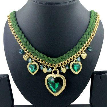 Spargz Alloy Metal Necklace_Mala060