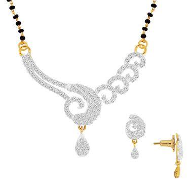 Spargz Brass Metal Mangalsutra Set_Aims009