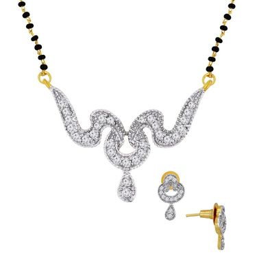 Spargz Brass Metal Mangalsutra Set_Aims036