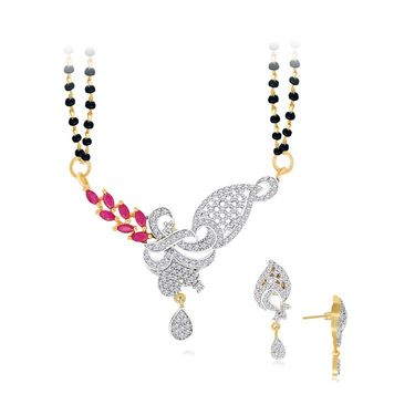 Spargz Brass Metal Mangalsutra Set_Aims069
