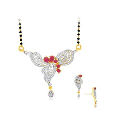 Spargz Brass Metal Mangalsutra Set_Aims074
