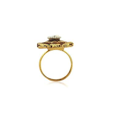 Spargz Alloy Metal Finger Ring_Aifr005