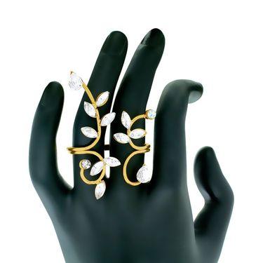 Spargz Alloy Metal Finger Ring_Aifr042