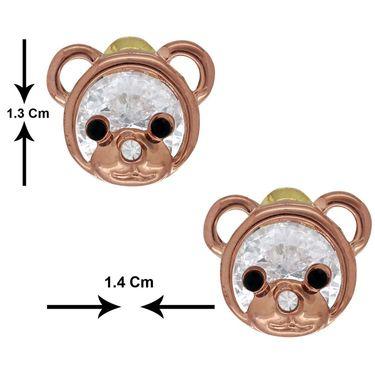 Spargz Alloy Metal Earring_Aier245