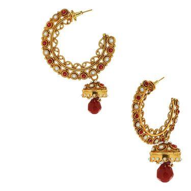 Spargz Brass Metal Earring_Aier321